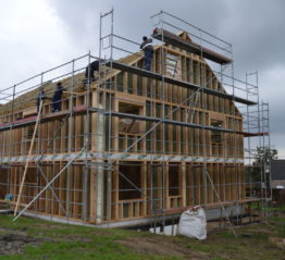 Delhez Systèmes : les constructions d'ossature en bois à Thimister