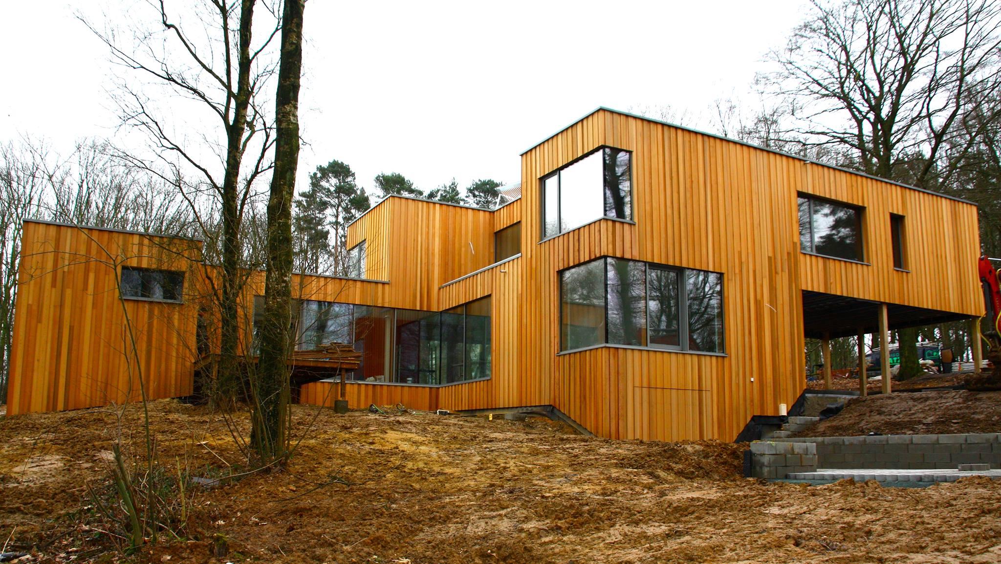 Ossature bois dans le Brabant wallon