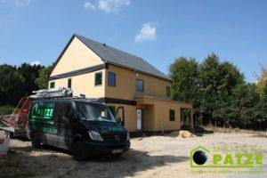 Ossature bois Jamoigne Luxembourg chantier