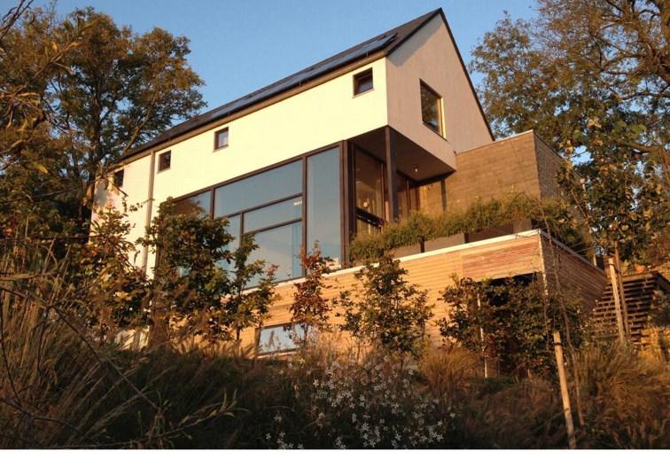 Une première en Belgique: Une maison en ossature bois et en paille