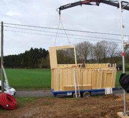 Ecomathome : votre ossature bois en province de Luxembourg