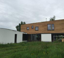 Vicmar : ossature bois, toiture, isolation et bardage à Ciney