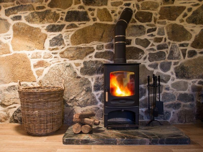 chauffage pour une maison en bois